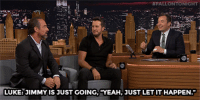 "<p><a href=""https://www.youtube.com/watch?v=9uUwUYgG2dk&amp;list=UU8-Th83bH_thdKZDJCrn88g&amp;index=1&amp;spfreload=10"" target=""_blank"">Luke Bryan accidentally ignored Chris Meloni&rsquo;s high five during the commercial break!</a><br/></p><p>[ <a href=""http://www.nbc.com/the-tonight-show/video/luke-bryans-original-band-name-was-terrible/2890033"" target=""_blank"">Part 2</a> ]</p>:  #FALLONTONIGHT 