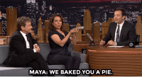 """<h2><a href=""""http://www.nbc.com/the-tonight-show/video/martin-short-and-maya-rudolph-baked-jimmy-a-pie/3043254"""" target=""""_blank"""">&ldquo;We&rsquo;re your neighbors, Jimmy Fallon!&rdquo;</a></h2>:  #FALLONTONIGHT  MAYA: WE BAKEDYOU A PIE <h2><a href=""""http://www.nbc.com/the-tonight-show/video/martin-short-and-maya-rudolph-baked-jimmy-a-pie/3043254"""" target=""""_blank"""">&ldquo;We&rsquo;re your neighbors, Jimmy Fallon!&rdquo;</a></h2>"""