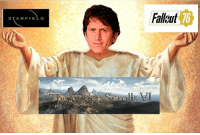 Memes, Twitter, and Fallout: Fallout  76  STARFIELD The Todd has done it again ... ... [Aarkithrax twitter] Fallout4 Fallout3 Fallout2 Fallout NewVegas SoleSurvivor VaultTec VaultBoy FalloutMemes BrotherhoodOfSteel Courier6 NCR CaesarsLegion MrHouse Deathclaw Railroad LibertyPrime DeathclawArmy Vault76 Starfield ES6 BE3