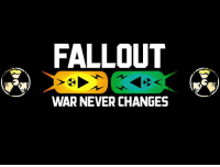 Edit thing I made~Ziege: FALLOUT  WAR NEVER CHANGES Edit thing I made~Ziege