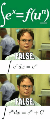 Calculus is fun! Anyone notice this on the previous shirt?  Join us at Engineer Memes: FALSE  FALSE  ear C  dac Calculus is fun! Anyone notice this on the previous shirt?  Join us at Engineer Memes