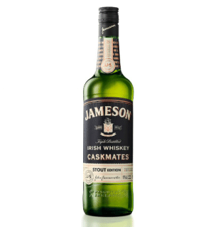 Beer, Irish, and Whiskey: fameewon  AL  BICH  ASOA  SE  BARBR  UT S  JJS  AN  JAMESON  Frpla Distille  IRISH WHISKEY  CASKMATES  STOUT EDITION  BEER BARE  fohn fauesenthnAL  LAD  JO-058548 Jameson Irish Whiskey Cooler - Kidscare.store •