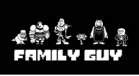 watch out guys it's sans undertale: FAMILY GUY watch out guys it's sans undertale