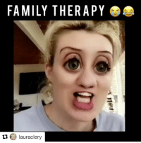 Seriously the funniest thing ever!: FAMILY THERAPY  lauraclery  ti. Seriously the funniest thing ever!
