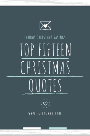 Christmas Best And Quotes Famous Sayings Top Fifteen Www