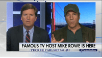 """Plumbers, steamfitters, pipefitters, carpenters, mechanics, those men and women right now...can pretty much write their own ticket.""  On 'Tucker Carlson Tonight', Mike Rowe advised Americans to get a skill that will always be in demand.: FAMOUS TV HOST MIKE ROWE IS HERE  TUCKER CARLSON tonight  @Tucker Carlson ""Plumbers, steamfitters, pipefitters, carpenters, mechanics, those men and women right now...can pretty much write their own ticket.""  On 'Tucker Carlson Tonight', Mike Rowe advised Americans to get a skill that will always be in demand."