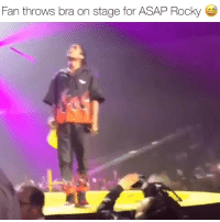asaprocky on his injuredgenerationtour tour getting mad love ‼️ Follow @bars for more ➡️ DM 5 FRIENDS: Fan throws bra on stage for ASAP Rocky asaprocky on his injuredgenerationtour tour getting mad love ‼️ Follow @bars for more ➡️ DM 5 FRIENDS