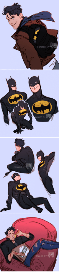 Target, Tumblr, and Blog: FANART BY THE MAD   FANART BY THE MAD   FAN ART BY  MAD   FANART BY THE MAD johannathemad:   cheerful teenager AU 🦇