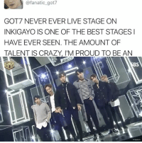This is youngjae's era for sure . . . . . . . Credit to owner✌: @fanatic got7  GOT7 NEVER EVER LIVE STAGE ON  INKIGAYO IS ONE OF THE BEST STAGES I  HAVE EVER SEEN. THE AMOUNT OF  TALENT IS CRAZY, IM PROUD TO BE AN This is youngjae's era for sure . . . . . . . Credit to owner✌