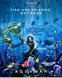 "Dank, Friends, and Fish: FANDOM  FISH ARE FRIENDS,  NOT FOO D ""Save...Nemo"" ""Why did you say that name!""  By FANDOM"