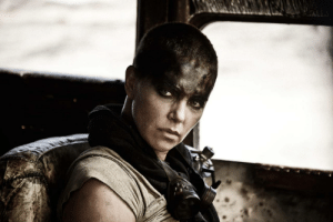 "fandomsandfeminism:  pinstripesuit:  madddscience:  ""In the action movie, an evil ruler becomes enraged when he discovers that Charlize Theron's character, Furiosa, has helped his sex slaves escape his grasp. Behind them they leave the message: 'Women are not things.' Furiosa encounters Max on the road, and they team up in search of a matriarchal promised land with bad guys in hot pursuit. Theron, not Hardy, leads the charge; she also does the majority of the fighting.""How Mad Max: Fury Road Became a Feminist Action Film  OH MY GOD I WAS RIGHT ALL THOSE MONTHS AGOCHARLIZE THERON IS THE LEADER OF A POST-APOCALYPTIC SEPARATIST LESBIAN COMMUNETHIS IS GOING TO BE THE BEST MOVIE EVER  Well hot damn.: fandomsandfeminism:  pinstripesuit:  madddscience:  ""In the action movie, an evil ruler becomes enraged when he discovers that Charlize Theron's character, Furiosa, has helped his sex slaves escape his grasp. Behind them they leave the message: 'Women are not things.' Furiosa encounters Max on the road, and they team up in search of a matriarchal promised land with bad guys in hot pursuit. Theron, not Hardy, leads the charge; she also does the majority of the fighting.""How Mad Max: Fury Road Became a Feminist Action Film  OH MY GOD I WAS RIGHT ALL THOSE MONTHS AGOCHARLIZE THERON IS THE LEADER OF A POST-APOCALYPTIC SEPARATIST LESBIAN COMMUNETHIS IS GOING TO BE THE BEST MOVIE EVER  Well hot damn."