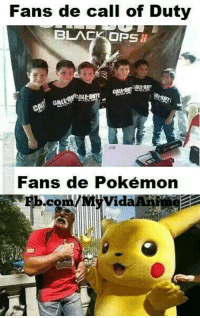 Memes, Call of Duty, and Black Ops: Fans de call of Duty  BLACK OPS  Fans de Pokémon  .corn Solo Otakus