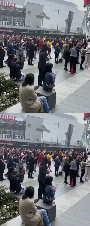 Fans gather at the #StaplesCenter to pay their respects to #KobeBryant 🙏 Via: @Chiney321 #RIPKobeBryant #RIPGiannaBryant https://t.co/uAx4V8Rxbg: Fans gather at the #StaplesCenter to pay their respects to #KobeBryant 🙏 Via: @Chiney321 #RIPKobeBryant #RIPGiannaBryant https://t.co/uAx4V8Rxbg