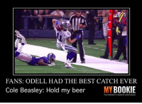 I don't know about you, but I'm ready for some football and some bets. Go visit @betmybookie. Click the LINK IN BIO and use promo code: Shithead - Join now!! spon: FANS: ODELL HAD THE BEST CATCH EVER  Cole Beasley: Hold my beer  MYBOOKIE  THE INTERNETS FAVORITE SPORTS8OOK I don't know about you, but I'm ready for some football and some bets. Go visit @betmybookie. Click the LINK IN BIO and use promo code: Shithead - Join now!! spon