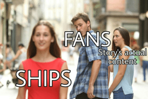 Target, Tumblr, and Blog: FANS  Story's actual  0  content shrobin:  EVERY. FANDOM. EVER.