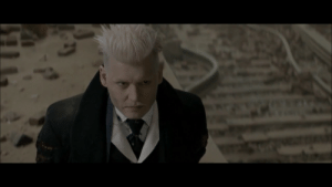 Fantastic Beasts and Where To Find Them (2016) features a major twist where Percival Graves (Colin Farrell) is actually this weird blonde guy with a mustache (Johnny Depp). This seems important but I don't know who this is because I'm not a fucking nerd: Fantastic Beasts and Where To Find Them (2016) features a major twist where Percival Graves (Colin Farrell) is actually this weird blonde guy with a mustache (Johnny Depp). This seems important but I don't know who this is because I'm not a fucking nerd