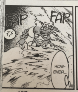 What are they doing to Magmar!?!?: FAR  FAP  HOW  EVER. What are they doing to Magmar!?!?