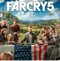Memes, Game, and Far Cry: FARCRY5 Far Cry 5's cover art has been revealed! What are you hoping to see from this game?