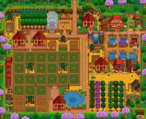 Farm Showcase! I posted an earlier version of it on r/FarmsOfStardewValey and thought i'd share it here too! (Full: https://imgur.com/gallery/JLKQwTJ): Farm Showcase! I posted an earlier version of it on r/FarmsOfStardewValey and thought i'd share it here too! (Full: https://imgur.com/gallery/JLKQwTJ)