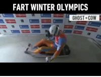 I swear I smelt it - 📹 @fart_olympics - 9gag Olympics Fart: FART WINTER OLYMPICS  GHOST+COVW I swear I smelt it - 📹 @fart_olympics - 9gag Olympics Fart