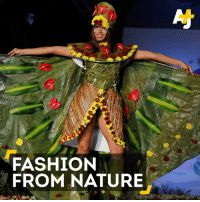 Leaves and flowers and butterfly wings, oh my! Nature inspired these fashion designs.: FASHION  FROM NATURE Leaves and flowers and butterfly wings, oh my! Nature inspired these fashion designs.