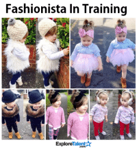 Memes, Train, and 🤖: Fashionista In Training  Explore  alen  .com These girls are WAY too cute! <3