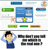 Confused, Anonymous, and The Real: Fast Safe Anonymous  Download Now  movies, software, shows.  Personal  MediaFire  Click here to  Download  DOWNLOAD  1 Year Membership  50  Download & Share  Without Ads  Learn More  ilivid 4.00 O  Fast Safe Anonymous  movies, software, shows.  NEW The ultimate downloader  for Reserve  Hotfile and more file hosting service  TechnicLaunche  ove ad  Still not down  Repair your  DOWNLOAD NOW  Download Now  Download Now  Why don't you tell  me Which IS  the real one Confusion Hi Confusion Hai..