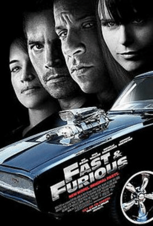Fast and Furious 4 was actually meant to be a Cars sequel, but get rejected because it's to expensive to do motion capture of Vin Diesel's face on a Dodge Charger bumper. This explains why the movie is as dumb as a movie about talking cars and why Dom has the emotional range of a Dodge Charger: FAST&  URIOUS Fast and Furious 4 was actually meant to be a Cars sequel, but get rejected because it's to expensive to do motion capture of Vin Diesel's face on a Dodge Charger bumper. This explains why the movie is as dumb as a movie about talking cars and why Dom has the emotional range of a Dodge Charger