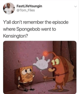 Philly Special by Harvickfan4Life MORE MEMES: FastLifeYoungin  @Tom-Flies  Y'all don't remember the episode  where Spongebob went to  Kensington? Philly Special by Harvickfan4Life MORE MEMES