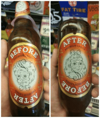 9gag, Beer, and Dank: FAT TIRE  Vool  04  AFT  FOR  MIUM LA  REMIUM  GER This beer has the best label I have ever seen.  https://9gag.com/gag/a9A6YGZ/sc/funny?ref=fbsc