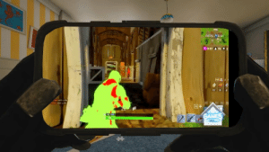 Fbi, Incognito, and Looking: FATAL TELDS  0:07 & 76  12 00  with a rife  with a rifle  回干  0 100  100 Use Incognito Mode When Looking Up Fortnite Aimbot Hacks (FBI Open ...