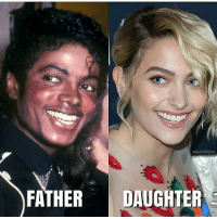 Memes, 🤖, and Daughter: FATHER DAUGHTER DO THEY LOOK ALIKE ???