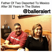 Children, Detroit, and Donald Trump: Father Of Two Deported To Mexico  After 30 Years In The States  @balleralert Father Of Two Deported To Mexico After 30 Years In The States – blogged by @MsJennyb (pic via NIRAJ WARIKOO) ⠀⠀⠀⠀⠀⠀⠀ ⠀⠀⠀⠀⠀⠀⠀ On Monday, 39-year-old Jorge Garcia kissed his wife and kids goodbye, just before being deported from metro Detroit to Mexico. ⠀⠀⠀⠀⠀⠀⠀ ⠀⠀⠀⠀⠀⠀⠀ According to Detroit Free Press, 30 years after traveling to the United States with an undocumented family member at the age of 10, Garcia was sent back to his home country, leaving his wife and two children, who are all citizens of the U.S. ⠀⠀⠀⠀⠀⠀⠀ ⠀⠀⠀⠀⠀⠀⠀ Garcia had been facing deportation since 2009, facing an order of removal from immigration courts. However, Obama's administration allowed stays of removal, which kept Garcia in the states. But, with Donald Trump's racist take on immigration, which has fueled his intense crackdown on illegal immigrants, Garcia's time in the states was cut short. ⠀⠀⠀⠀⠀⠀⠀ ⠀⠀⠀⠀⠀⠀⠀ Despite his good standing with the law, he has been ordered to Mexico. ICE agents escorted the 39-year-old through the airport and allowed him to say goodbye to his wife and children. ⠀⠀⠀⠀⠀⠀⠀ ⠀⠀⠀⠀⠀⠀⠀ According to the publication, prior to his deportation, he asked the agents if he could stay until the new DACA bill passed, as it may expand the age range for qualification (Garcia is too old to qualify), but the organization refused. He was ordered to leave by Jan. 15, Martin Luther King Jr. Day.
