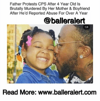 "Black Lives Matter, Children, and Family: Father Protests CPS After 4 Year Old Is  Brutally Murdered By Her Mother & Boyfriend  After He'd Reported Abuse For Over A Year  @balleralert  Read More: www.balleralert.comm Father Protests CPS After Child Is Brutally Murdered By Mother & Boyfriend After He'd reported Abuse For Over A Year -blogged by @theRealAlexisDanielle ⠀⠀⠀⠀⠀⠀⠀ ⠀⠀⠀⠀⠀⠀⠀ Monday, a grieving father rallied with others outside of the Cuyahoga County Children and Family Services building after his four-year-old daughter was brutally murdered by her own mother. The event was organized by local BlackLivesMatter activists. ⠀⠀⠀⠀⠀⠀⠀ Aniya Day-Garret was found unresponsive inside of her home in the Euclid area of Cleveland Ohio. The child, who was visibly malnourished, was pronounced deceased at a local hospital. A stroke, caused by blunt force trauma to the head, was credited for her death. ⠀⠀⠀⠀⠀⠀⠀ ⠀⠀⠀⠀⠀⠀⠀ Aniya's mother, Sierra Day, along with her boyfriend, Deonte Lewis were charged with aggravated murder. The two are each being held on a one million dollar bond. ⠀⠀⠀⠀⠀⠀⠀ ⠀⠀⠀⠀⠀⠀⠀ Aniya's father, Mickhal Garrett, has reason to believe that the brutal murder of his baby girl could have been prevented by child services. Court records obtained by Cleveland.com show that three months prior, Garrett told a judge that he had reason to believe his daughter was being abused, and that he feared for her life. ⠀⠀⠀⠀⠀⠀⠀ ⠀⠀⠀⠀⠀⠀⠀ ""I truly, truly, truly feel as though my daughter is being abused at home physically-mentally and that her life could possibly be in danger,"" Garrett wrote in an affidavit in December. ⠀⠀⠀⠀⠀⠀⠀ ⠀⠀⠀⠀⠀⠀⠀ An ongoing investigation took place but officials reportedly eventually stated they found no reason to remove the child from her mother's care. Garrett had reported visible scars he found on his daughter. ⠀⠀⠀⠀⠀⠀⠀ ⠀⠀⠀⠀⠀⠀⠀ Family members of Aniya also say they reported visible injuries on her body, including rug burns and black eyes. The reported events allegedly went on for a year and a half. ⠀⠀⠀⠀⠀⠀⠀ ⠀⠀⠀⠀⠀⠀⠀ A case for Garrett to obtain custody of his daughter was ongoing when the child died. ⠀⠀⠀⠀⠀⠀⠀ ⠀⠀⠀⠀⠀⠀⠀ A representative of Cuyahoga County Children and Family Services responded to calls for an investigation Monday...to read the rest log onto BallerAlert.com (clickable link on profile)."