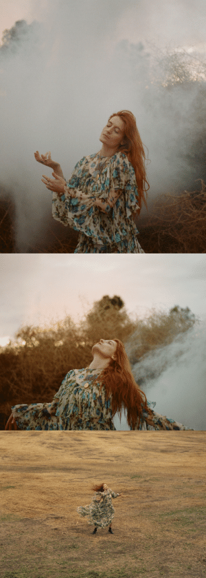 fatmdaily: Florence Welch photographed by Vincent Haycock: fatmdaily: Florence Welch photographed by Vincent Haycock