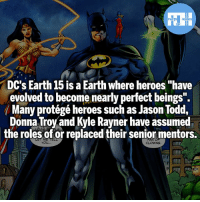 "Batman, Memes, and Superman: FATSHERDES  DC's Earth 15 is a Earth where heroes ""have  evolved to become nearly perfect beings  ( Many protégé heroes such as Jason Todd.  Donna Troy and Kyle Rayner have assumed  the roles of or replaced their senior mentors.  YOU Jason Todd Batman, Donna Troy Superman, General Zod Superman! - My other IG accounts @factsofflash @yourpoketrivia @webslingerfacts ⠀⠀⠀⠀⠀⠀⠀⠀⠀⠀⠀⠀⠀⠀⠀⠀⠀⠀⠀⠀⠀⠀⠀⠀⠀⠀⠀⠀⠀⠀⠀⠀⠀⠀⠀⠀ ⠀⠀--------------------- batmanvssuperman xmen batman superman wonderwoman deadpool spiderman hulk thor ironman marvel greenlantern theflash wolverine daredevil aquaman justiceleague homecoming nightwing therhino wallywest redhood avengers jasontodd rhino tomholland peterparker like4like injustice2"