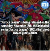 JLA and JLA Unlimited are 2 of the best Animated series IMO! - My other IG accounts @factsofflash @yourpoketrivia @webslingerfacts ⠀⠀⠀⠀⠀⠀⠀⠀⠀⠀⠀⠀⠀⠀⠀⠀⠀⠀⠀⠀⠀⠀⠀⠀⠀⠀⠀⠀⠀⠀⠀⠀⠀⠀⠀⠀ ⠀⠀--------------------- batmanvssuperman xmen batman superman wonderwoman deadpool spiderman hulk thor ironman marvel greenlantern theflash wolverine daredevil aquaman justiceleague homecoming infinitywar starfire wallywest redhood avengers jasontodd blackpanther tomholland nightwing like4like dickgrayson: FATSHERDES  Justice League' is being released on the  same day,November 17th, the animated  series Justice League' (2001) first aired  sixteen years earlier.  /e JLA and JLA Unlimited are 2 of the best Animated series IMO! - My other IG accounts @factsofflash @yourpoketrivia @webslingerfacts ⠀⠀⠀⠀⠀⠀⠀⠀⠀⠀⠀⠀⠀⠀⠀⠀⠀⠀⠀⠀⠀⠀⠀⠀⠀⠀⠀⠀⠀⠀⠀⠀⠀⠀⠀⠀ ⠀⠀--------------------- batmanvssuperman xmen batman superman wonderwoman deadpool spiderman hulk thor ironman marvel greenlantern theflash wolverine daredevil aquaman justiceleague homecoming infinitywar starfire wallywest redhood avengers jasontodd blackpanther tomholland nightwing like4like dickgrayson