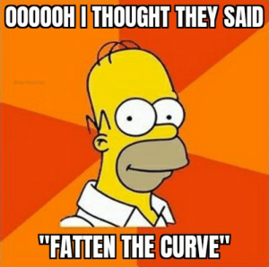Fattening the curve..: Fattening the curve..