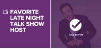 """<h2>A big THANK YOU to everyone who's been voting for Jimmy to win the <a href=""""http://vote.peopleschoice.com/#!/home/all/47/2"""" target=""""_blank"""">Late Night Talk Show Host People's Choice Award</a>. You guys are the coolest!</h2><h2>If you are still wanting to vote, <a href=""""http://vote.peopleschoice.com/#!/home/all/47/2"""" target=""""_blank"""">here</a>'s the link!</h2><h2>Happy weekend, pals!</h2>: FAVORITE  LATE NIGHT  TALK SHOW  HOST  CLICK TO VOTE <h2>A big THANK YOU to everyone who's been voting for Jimmy to win the <a href=""""http://vote.peopleschoice.com/#!/home/all/47/2"""" target=""""_blank"""">Late Night Talk Show Host People's Choice Award</a>. You guys are the coolest!</h2><h2>If you are still wanting to vote, <a href=""""http://vote.peopleschoice.com/#!/home/all/47/2"""" target=""""_blank"""">here</a>'s the link!</h2><h2>Happy weekend, pals!</h2>"""
