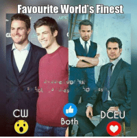 Memes, World, and 🤖: Favourite World's Finest  ARRO  as  es  CW  DCEU  Both