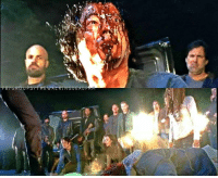 "Memes, Omg, and The Walking Dead: FBデGR Upasy-T HE'WhreKT:NGiD""ER D'FAen ****THE WALKING DEAD SEASON 7*** TWD Season 7, Episode 1: - AFTER POST DISCUSSION!! OMG!! what an episode. R.I.P Glenn and Abraham. 😢 what are your thought's on this premiere?"