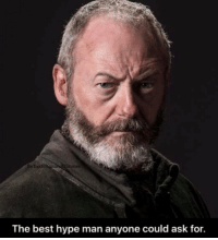 Davos 🙌 #GameOfThrones https://t.co/AtvFq7HUuF: fb/Bestof Gameoflhrones  The best hype man anyone could ask for. Davos 🙌 #GameOfThrones https://t.co/AtvFq7HUuF