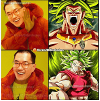 Apparently, Broly, and Memes: FB.co  mMDB  Lexclusives  fB.com/DBZexclusives  FB.com/DB exclusives  FB-coli DBZexclusiveSA  FB.cdm/DBZexcil sives Akira Toriyama apparently didn't like Broly that much but now he's making up for it. XD {Creds @dbz_exclusives }