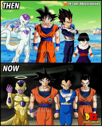 """Growing Up, Memes, and Shut Up: FB.COm/DBZexclusives  THEN  NOW  RZaxclus  EXCLUSMES PC: @dbz_exclusives """"Knowing is not enough; we must apply. Willing is not enough; we must do."""" - Johann Goethe - """"Sometimes you have to shut up, swallow your pride and accept that you're wrong. It's not giving up, it's called growing up."""""""