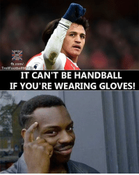 This 😂😂 🔺LINK IN OUR BIO!! 😎🔥: fb.com/  edia  IT CAN'T BE HANDBALL  IF YOU'RE WEARING GLOVES! This 😂😂 🔺LINK IN OUR BIO!! 😎🔥
