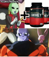 Memes, 🤖, and Whey: FB.COMIELFANZOFICIAL  GOLD STANDARD  WHEY HEY  ON :V