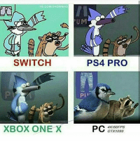 Crazy, Funny, and Lol: FB.COMISHOWMAS  UM  SWITCH  PS4 PRO  PI  XBOX ONE X  4K/60FPS  GTX1080 Bruhhh 😂 Double tap for luck 👌🏼 Enjoy the memes? Get even more on my backup (@memerzone) ➖➖➖➖➖➖➖➖➖➖➖➖➖➖➖➖➖ Tags (Ignore) 🚫 GamingPosts Laugh CallOfDuty Lol Meme Memes Cod Selfie Funny Gamer FunnyAF Savage Salt Meme PhotoOfTheDay Crazy Insane Minecraft Shook Joke NoChill YouTube Relatable ladbible Overwatch