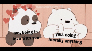Just the way you are 💖 via /r/wholesomememes https://ift.tt/2pt1ppm: fb.@miserably.unrequited  me, being in  love with you  you, doing  literally anything Just the way you are 💖 via /r/wholesomememes https://ift.tt/2pt1ppm