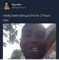 Funny, Ants, and Been: fbg mike  . @trapyeezus  i really been dying at this for 3 hours  now Not the dead ants 💀💀💀 @larnite • ➫➫➫ Follow @Staggering for more funny posts daily!