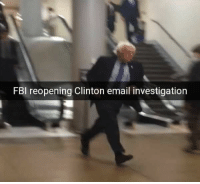 Dank, Fbi, and Email: FBI reopening Clinton email investigation